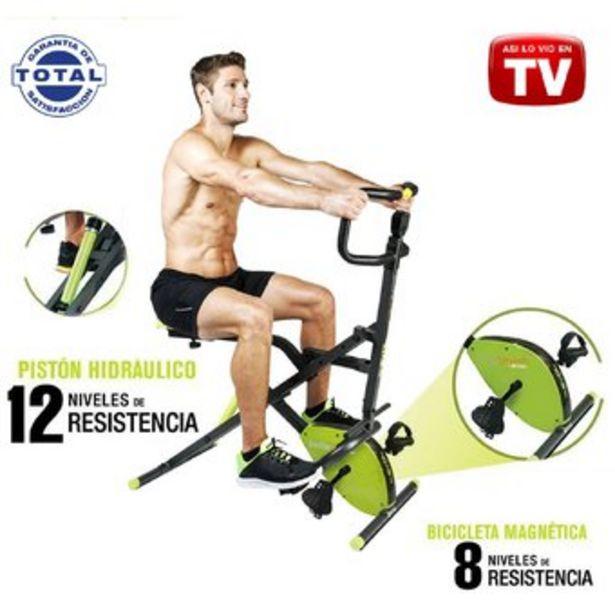 Oferta de Total Ab Crunch Pro Evolution Abdominal Cilindro Bicicleta Estática Tv por $587900