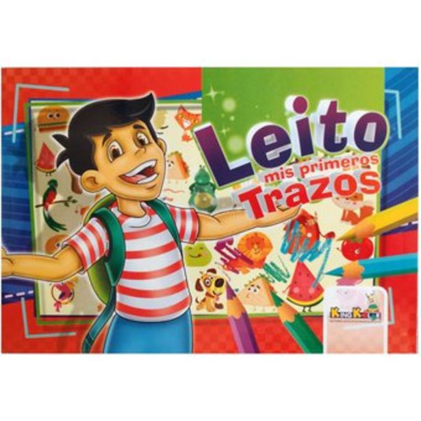 Oferta de Cartilla Leito Mis Primeros Trazos para niños por $7000