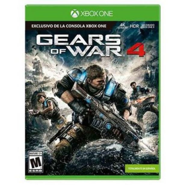 Oferta de Videojuego Gears Of War 4 Exclusivo Xbox One Fisico por $79900