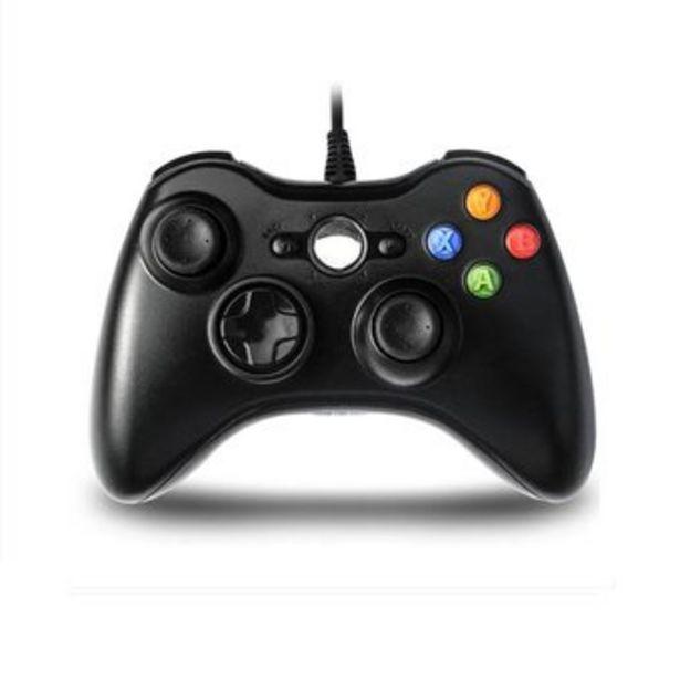 Oferta de Control xbox 360 cable 360 y pc NEGRO por $44500