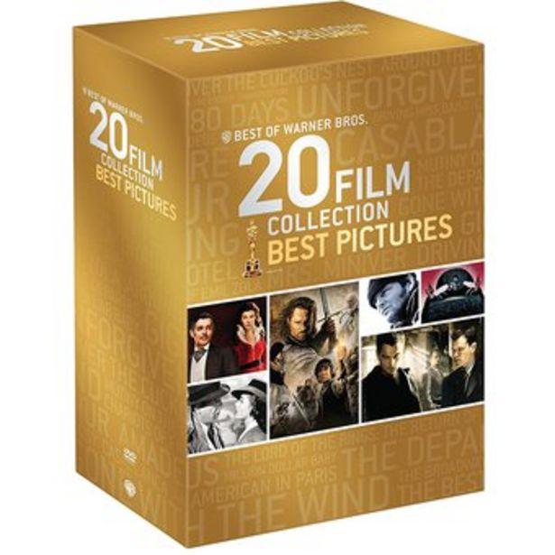 Oferta de Colección Warner Bros 20 Películas Ganadoras del Premio Oscar en DVD por $149900