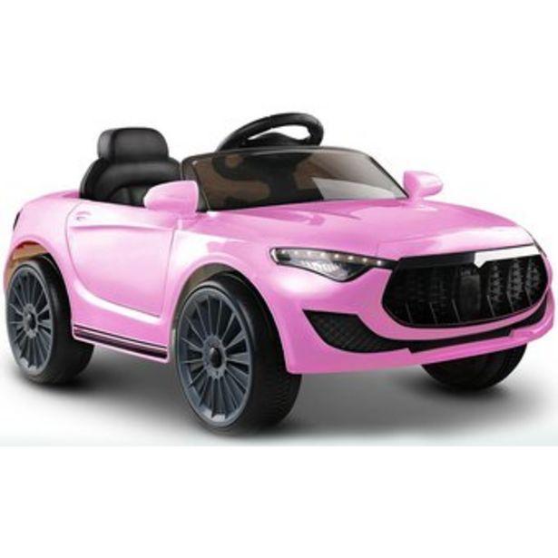 Oferta de Carro Electrico Niños Style Maserati Recargable 12v Control - Rosado por $639000