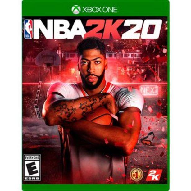 Oferta de Nba 2k20 2020 Xbox One Fisico por $70000