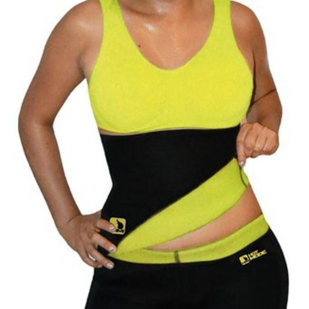 Oferta de Fajas Mujer De Cinturilla Termica Neopreno Hot Mode Color Negro por $17900