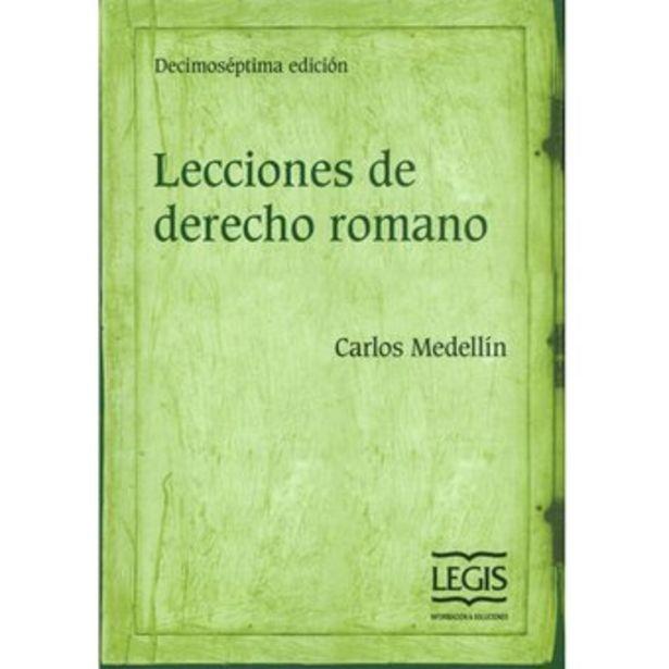 Oferta de Lecciones De Derecho Romano - Carlos Medellín por $61000