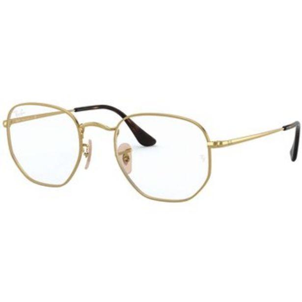 Oferta de Gafas Oftálmicos Ray Ban Rb6448 2500 Hexagonal Originales por $399999