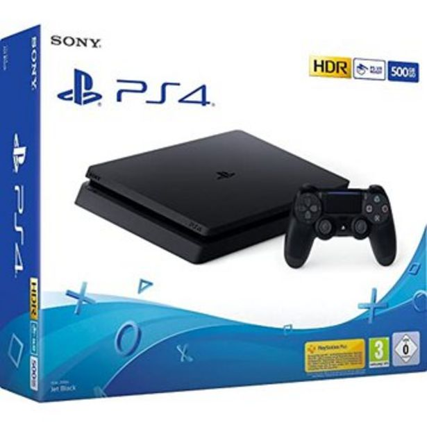 Oferta de PS4 Slim 500GB + 1 Control PlayStation 4 Consola Original por $1419900