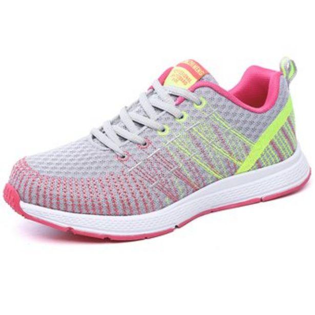 Oferta de Zapatos deportivos de malla transpirable para mujer por $119000