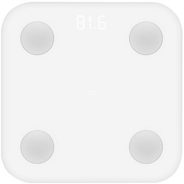 Oferta de Báscula Inteligente Xiaomi Mi Body Composition Scale 2 por $124900