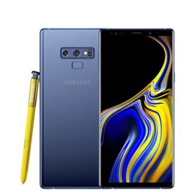 Oferta de Samsung Galaxy Note 9 N960U 128GB Azul por $1509900