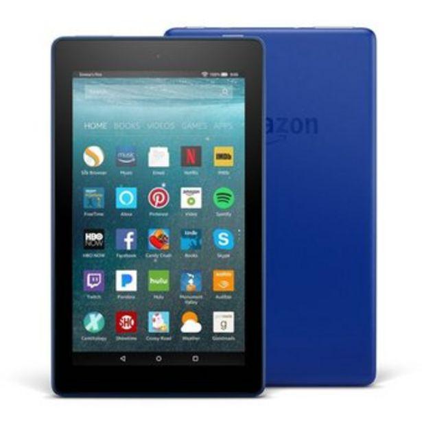 Oferta de Tablet Amazon Kindle Fire 7 pulgadas 16GB - Azul por $262500