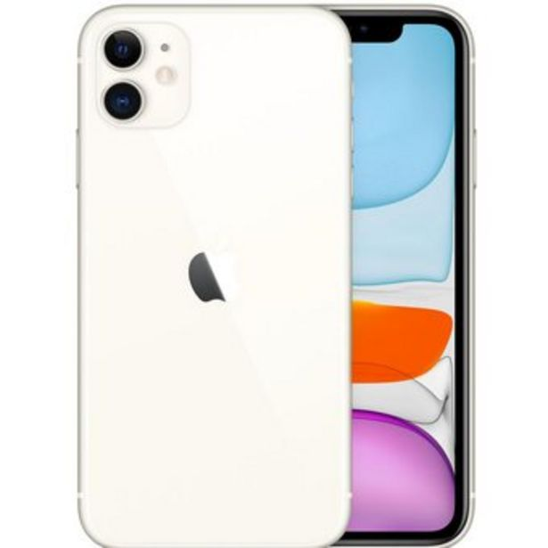 Oferta de Apple iPhone 11 128 GB - Blanco por $3099000