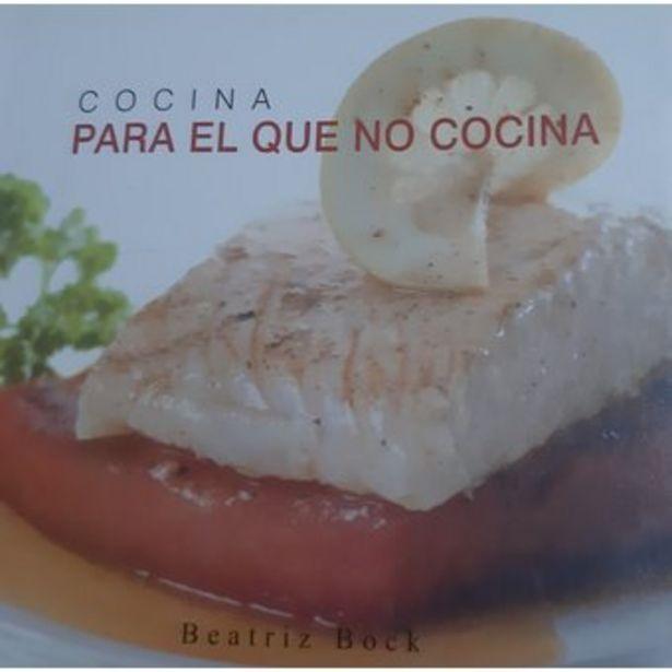 Oferta de Libro cocina para el que no cocina por $15000