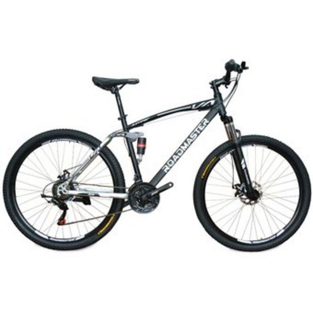 Oferta de Bicicleta Roadmaster Jumper Doble Susp 29 Shimano21v Todo Terreno por $679900