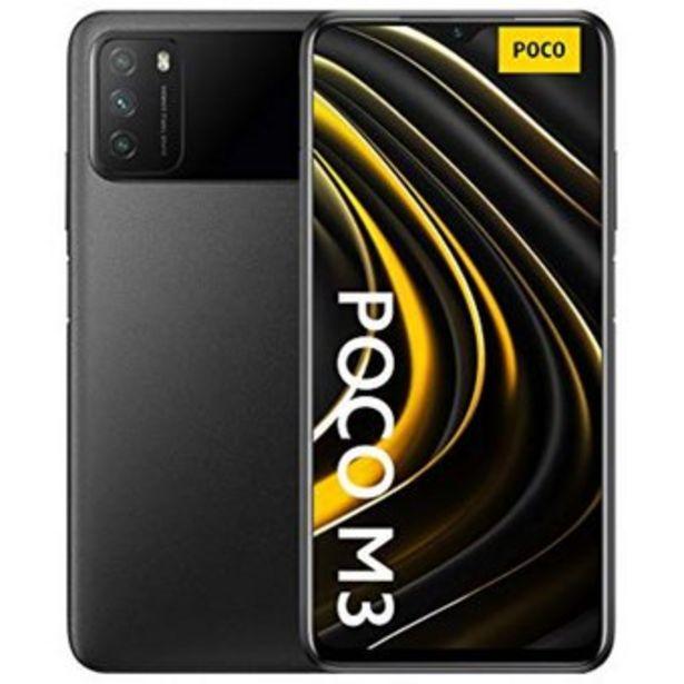 Oferta de Xiaomi Poco M3 4GB 128GB teléfono inteligente 6000mAh batería - Negro por $619900