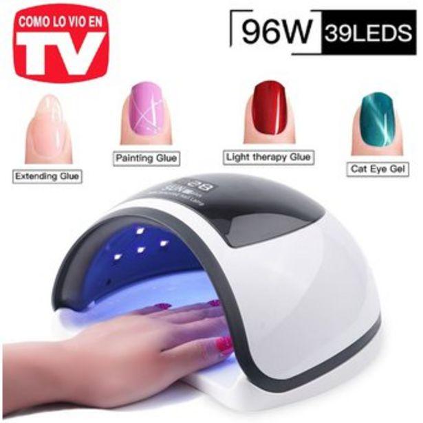 Oferta de Lampara Uñas LED/UV 96W Digital Secado Rápido 36 LEDS Manicure 96 W por $119900
