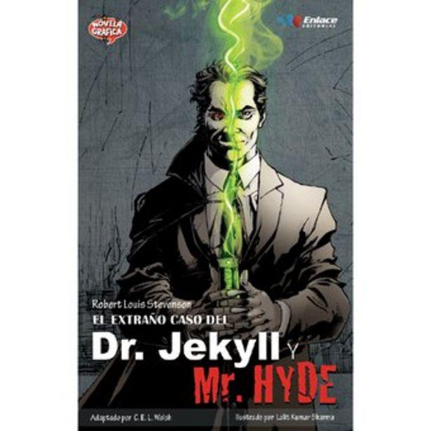 Oferta de Novela Gráfica Enlace Editorial El extraño caso del Dr. Jekyll y Mr. Hyde por $21900