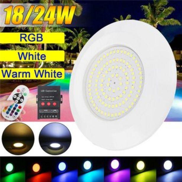 Oferta de Lámpara LED Sumergible con Masajeador para Piscina por $111900
