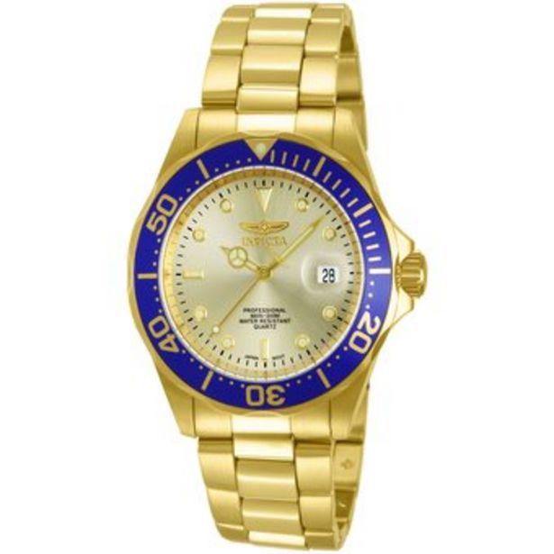 Oferta de Reloj Invicta Hombre Pro Diver 14124 Oro por $349900