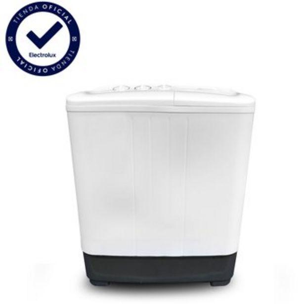 Oferta de Lavadora Electrolux Semi Automática Blanca 7kg/15lb EWTB7M3MUPW por $379900
