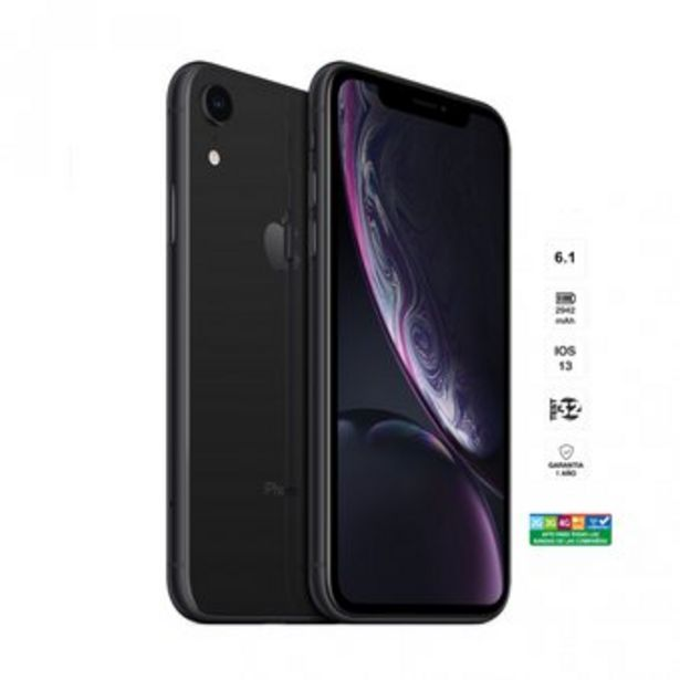 Oferta de IPhone XR 64 GB - Negro - Apple por $1669900