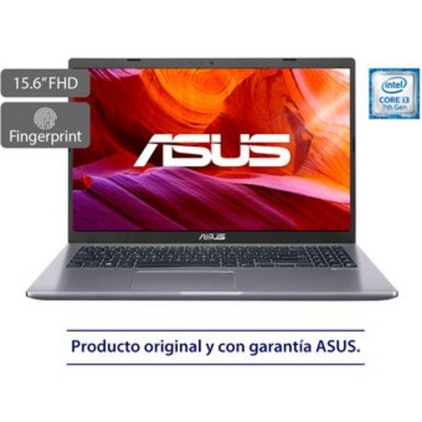 Oferta de Portatil Asus X509UA Core i3  4G Ram  256SSD 15 FHD  Gris por $1649900