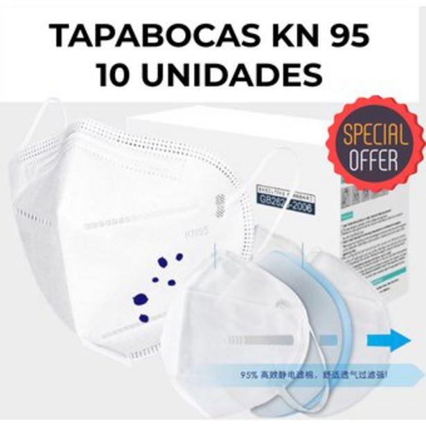 Oferta de Tapabocas-KN-95-BOLSA-DE-10-UNIDADES-importado-FDA-KN95-N95-UNI-4900 por $21900