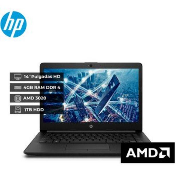 "Oferta de Portátil HP 245 g7 AMD 3020 Ram 4GB 1TB Hdd 14"" Linux Negro por $1149900"