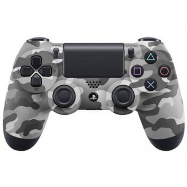 Oferta de Control Playstation 4 Ps4 Generico Tactil Recargable Camuflado Gris por $78400