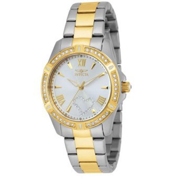 Oferta de Reloj Invicta Angel 21418 Acero dorado por $299900