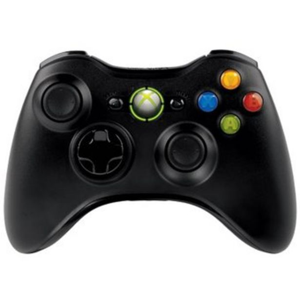 Oferta de Control Xbox 360 Inalambrico  - Negro por $75490