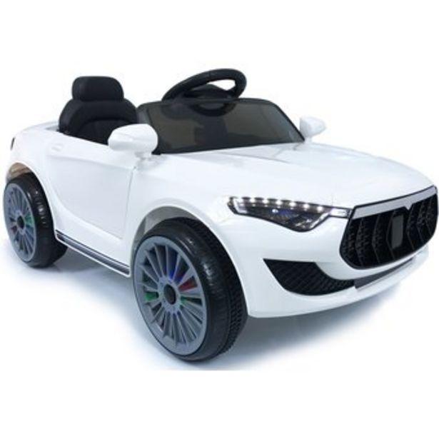 Oferta de Carro Electrico Niños Style Maserati Recargable 12v Control - Blanco por $639000