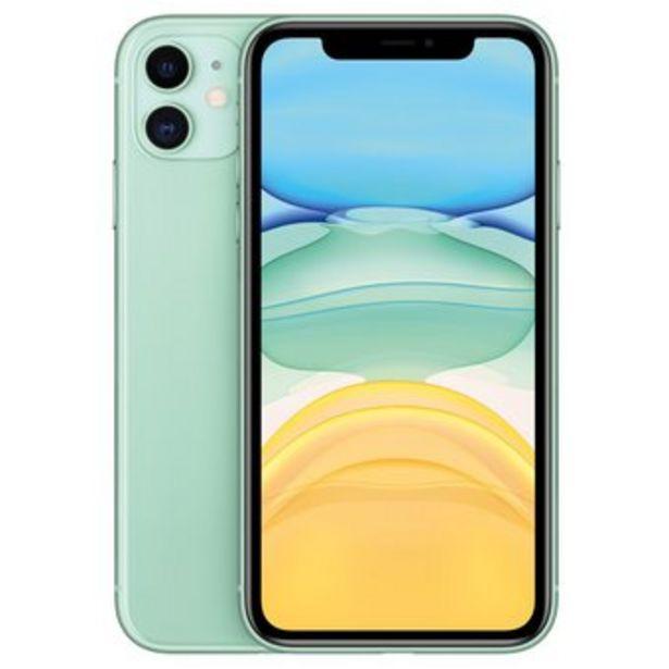 Oferta de Celular iPhone 11 128gb 4ram 12mpx 4ram VERDE CLARO R.A por $2989900