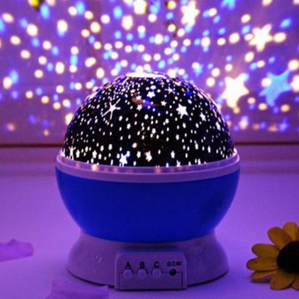 Oferta de Proyector De Estrella Giratoria Lámpara Led De Noche Luna por $29990