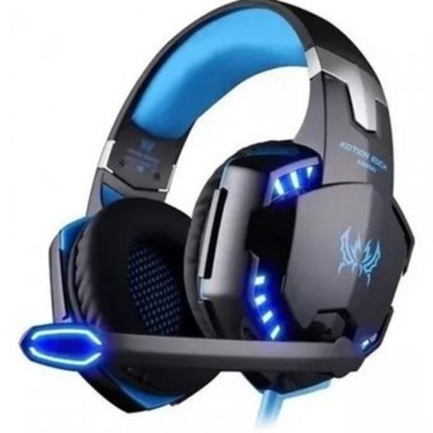 Oferta de Audifonos Diadema Gamer Kotion G2000 Con Microfono Usb Y Led por $65800