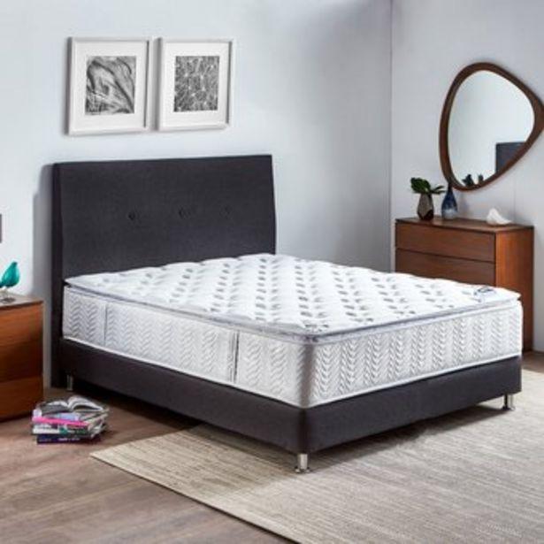 Oferta de Combo Colchon Paraíso Germany King 200*200 cm + Base cama + Cabecero por $1737000