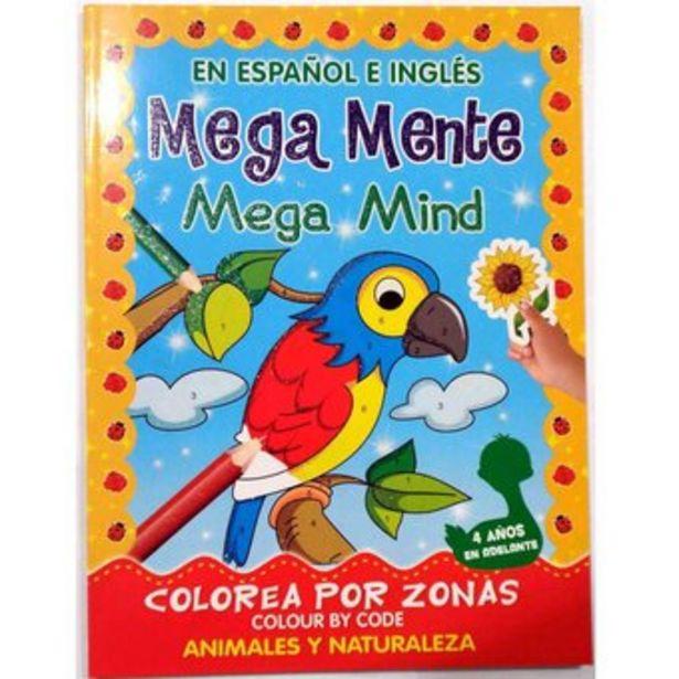 Oferta de Libro Infantil Colorear Y Stickers Sicoben - Megamente - A Y N por $21000