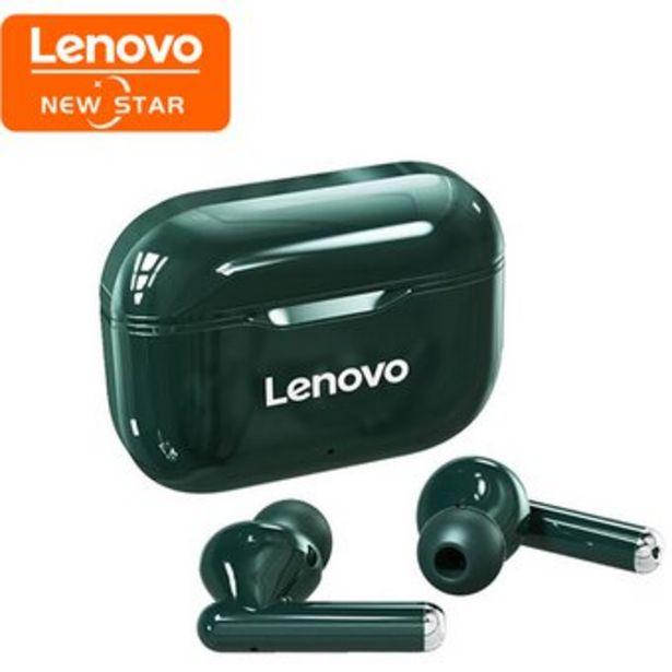 Oferta de Lenovo Auriculares LP1 Audifonos Bluetooth - verde por $64990