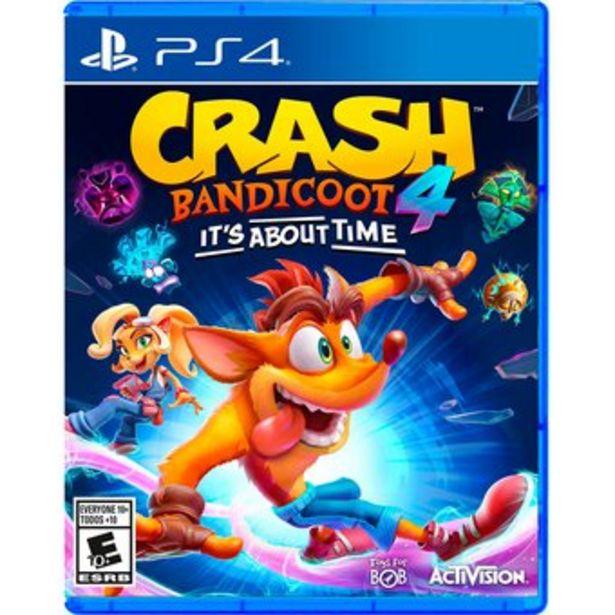 Oferta de Crash Bandicoot 4 Ps4 It's About Time por $139900