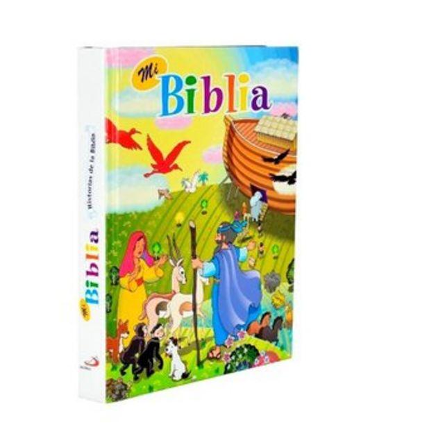 Oferta de Mi biblia infantil historias de la biblia ilustrada para niños Blanca por $42900