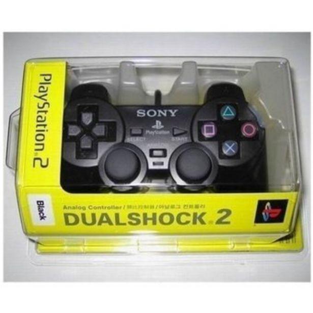 Oferta de Control Ps2 Play2 Dual Shock 2 Vibracion Sony Playstation 2 - Negro por $29000