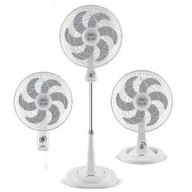 Oferta de Ventilador Samurai Turbo Silence Maxx 3 en 1 Blanco por $159900