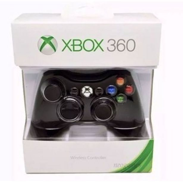 Oferta de Control Inalambrico Xbox 360 Potente Vibracion Largo alcance Negro por $74800