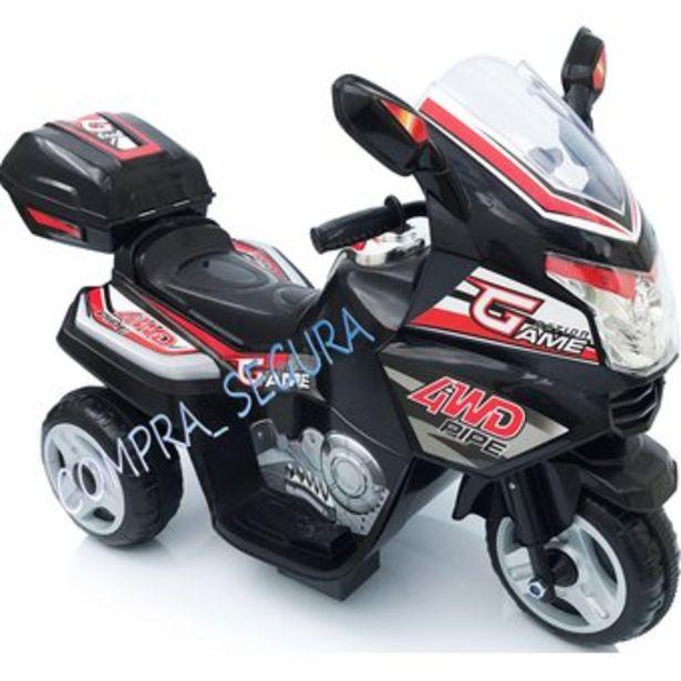 Oferta de Moto Electrica Montable Recargable Niña 1 a 4 años -Negro por $195000