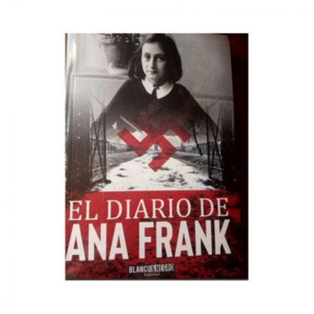 Oferta de El Diario De Ana Frank  Editorial Blanco y Negro Libro Original incluye test al interior por $17900