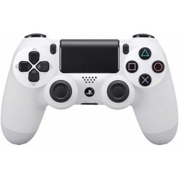 Oferta de Control Playstation 4 Ps4 Generico DualShock Led Tactil Recargable Blanco por $88400