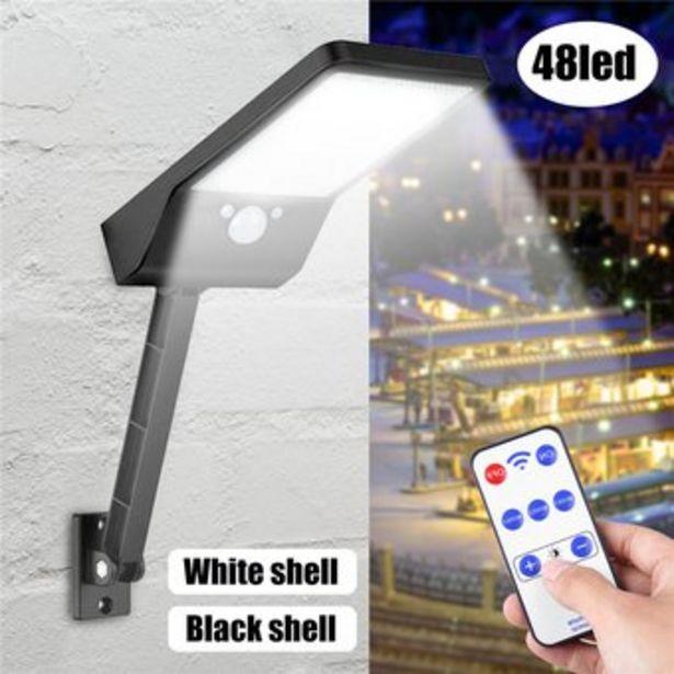 Oferta de Lámpara LED de pared Aprueba de Agua y con Sensor de Movimiento por $106900