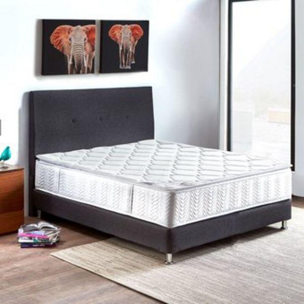 Oferta de Combo Colchon Paraíso Atlanta Doble 140*190 cm + Base cama + Cabecero por $1094000