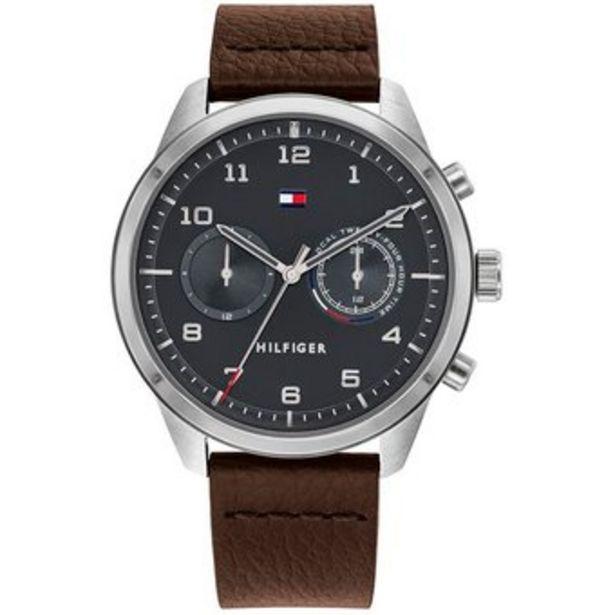 Oferta de Reloj Hombre Tommy Hilfiger Patrick  Cuero-Marrón por $434990
