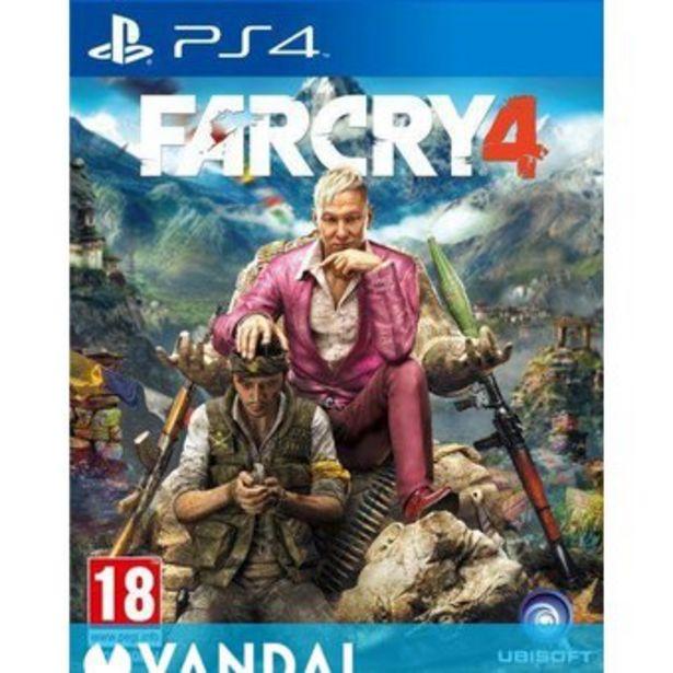 Oferta de Farcry 4 PS4 Juego Playstation 4 por $79900